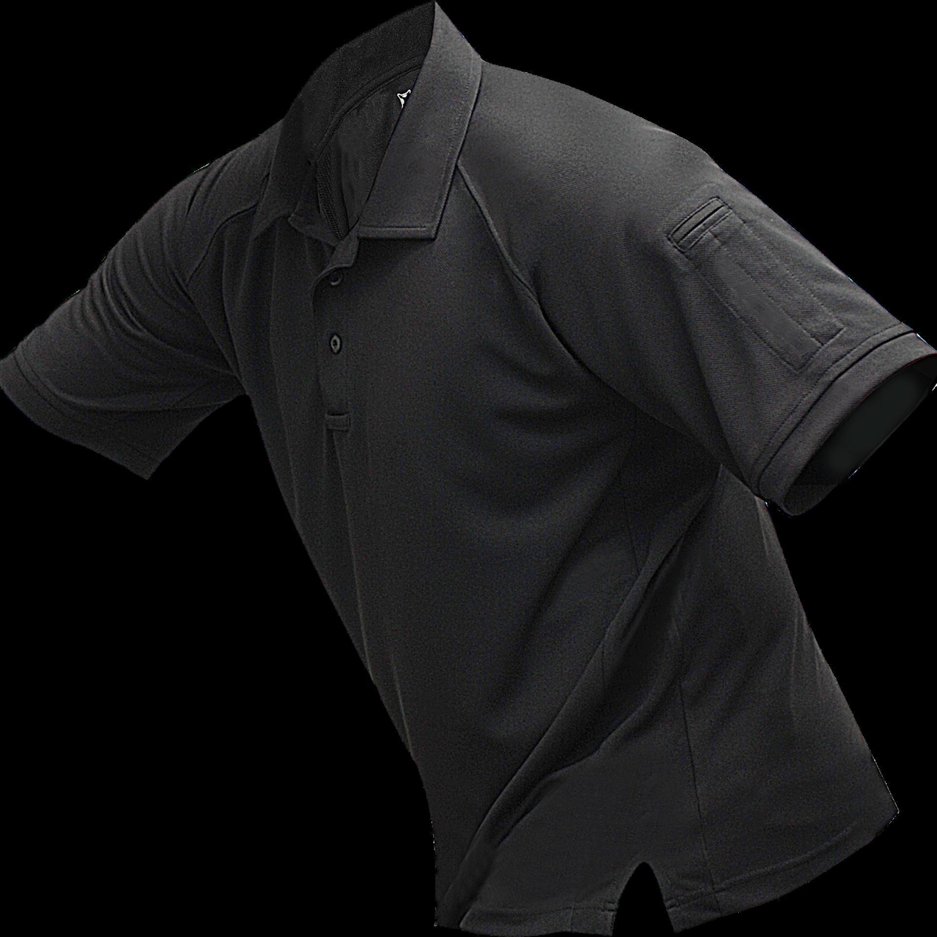 Vertx Mens Cold Long Sleeve Polo Shirt