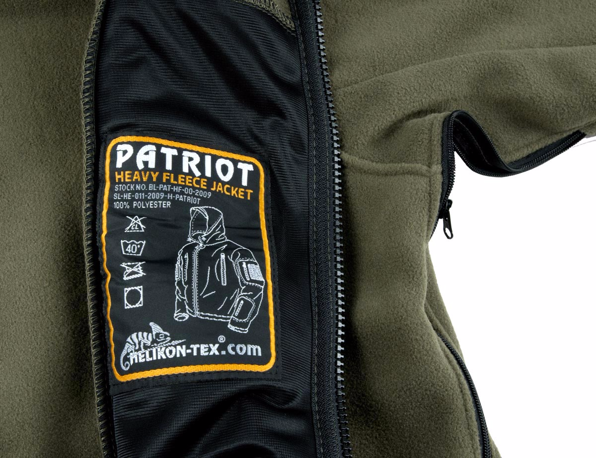 Helikon Tex Military Tactical PATRIOT Heavy Fleece Double Jacket Olive Green