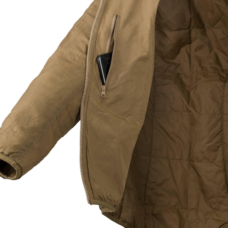 Helikon-TEX Wolfhound leggeri tutta anni giacca-Climashield Apex 67g-Taiga Green