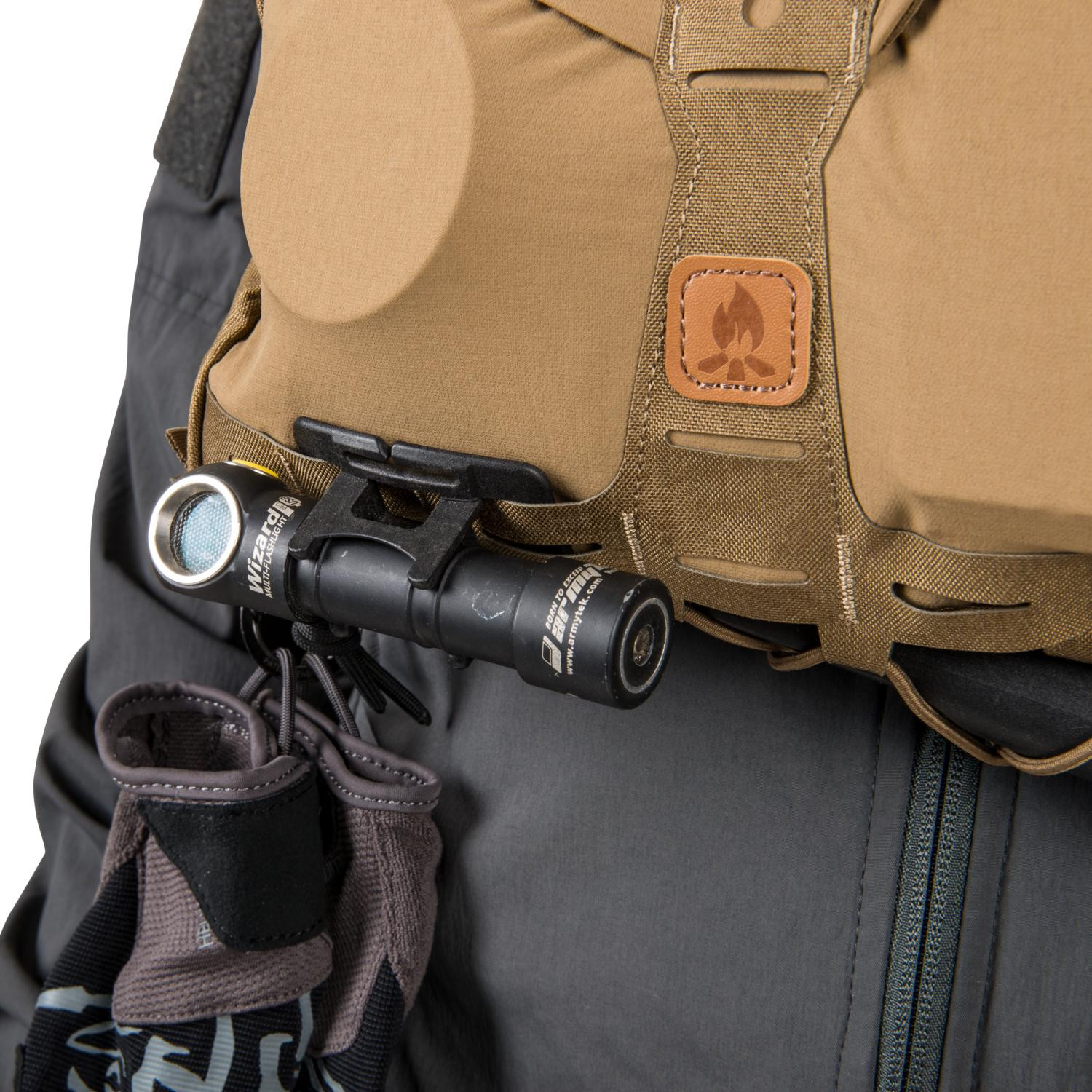 HELIKON TEX® BUSHCRAFT Outdoor Camping CHEST PACK NUMBAT® Coyote